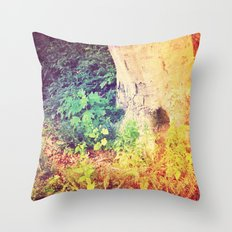 Dreaming in Color (of Another World) Throw Pillow