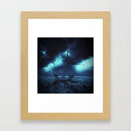 It's Over, I Lost Framed Art Print