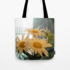 Chicago Daisies ~ flowers Tote Bag