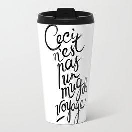 This is not art. Travel Mug