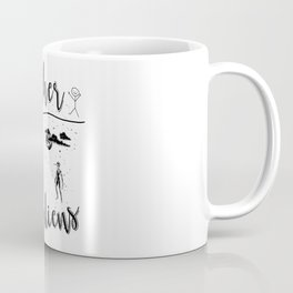 Mother Mothers Day Present Alien Children Coffee Mug