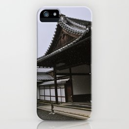Temple at Kinkakuji in Kyoto, Japan iPhone Case