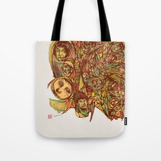 Somebody's Family Portrait Tote Bag