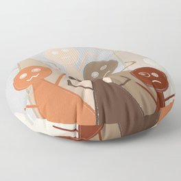 Different Person Different Perception Floor Pillow