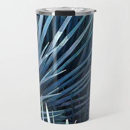Washingtonia in blue Travel Mug
