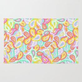 Colorful paisley Rug