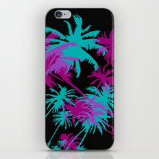 California Palm Trees at Night  iPhone & iPod Skin