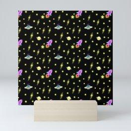 Cosmic pattern Mini Art Print