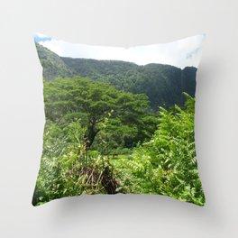 HAWAII BIG ISLAND HORSE Throw Pillow