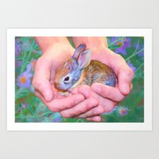 Tender Moment Art Print