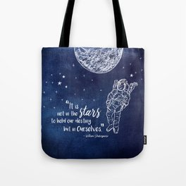 Shakepeare Not in the Stars Tote Bag