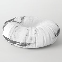 Titan River Black Floor Pillow