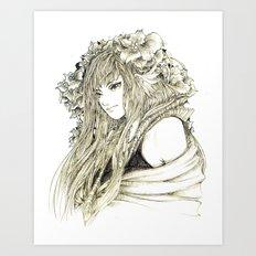 Kimir- Ra Art Print