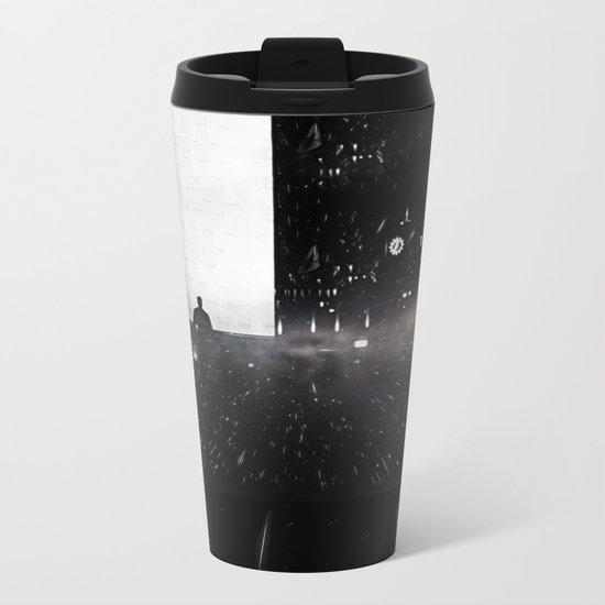 Out of Time Metal Travel Mug