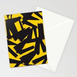 Amarelo Preto 01 Stationery Cards
