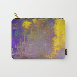 Blue & Yellow Carry-All Pouch
