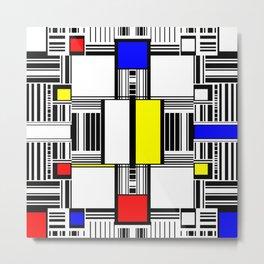 Rachna Bauhaus 1 Metal Print
