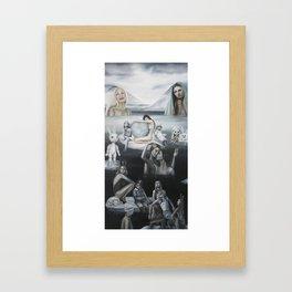 Valley of the Frozen Tears Framed Art Print