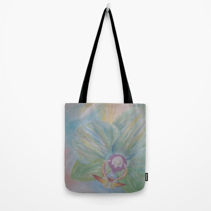 Tipsy Orchid Tote Bag