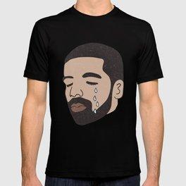drake crying T-shirt