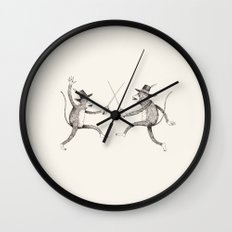'To The Death!' Wall Clock