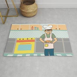 Cooking Time Rug
