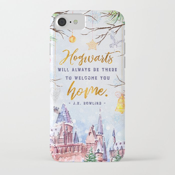 hogwarts will always iphone case