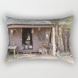 Old Timers Hut Rectangular Pillow