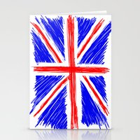 flag Stationery Cards featuring Flag by Svetlana Sewell