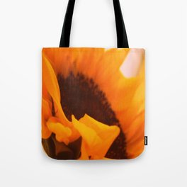SunflowerPower ~ retro sunny orange flower Tote Bag
