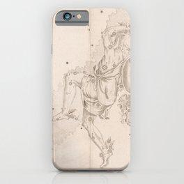 Johann Bayer - Uranometria / Measuring the Heavens (1661) - 11 Perseus iPhone Case