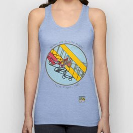 Wilbur and Orville Wright, 1903 Unisex Tank Top