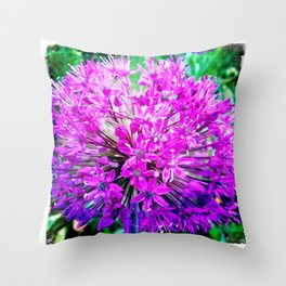 Allium Throw Pillow