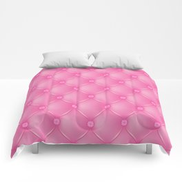 Pink Upholstery Pattern Comforters