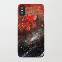 goldfish cosmos iPhone Case