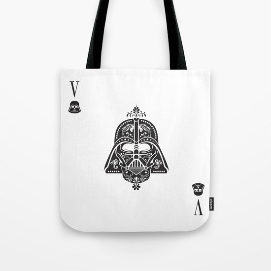 Darth Vader Card Tote Bag