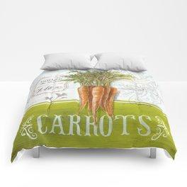 Market Carrots Comforters