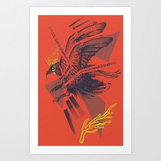raven2 Art Print