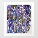 Split Leaf Philodendron – Purple by catcoq