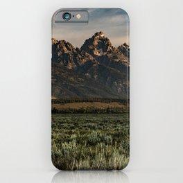 Teton Morning iPhone Case