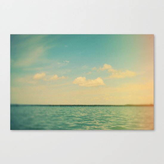 The Story of Clouds Canvas Print