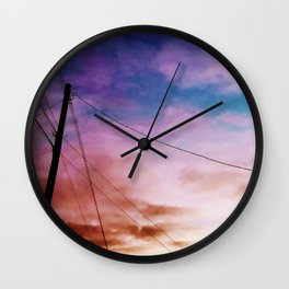 Hello Euphoria Wall Clock