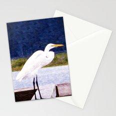 Egret Regret Stationery Cards