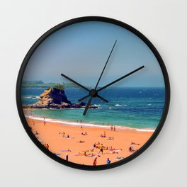 Summer in the North of Spain Wall Clock