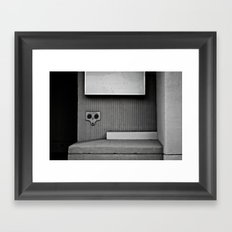 Dark Surprise Framed Art Print