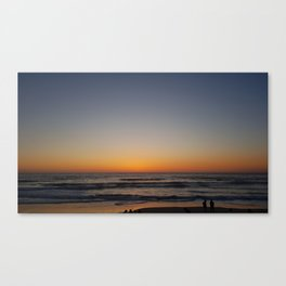 SUNSET ON THE SEA_PRIMERA FRONTERA DE MÉXICO Canvas Print