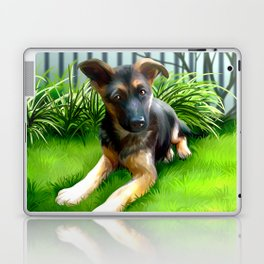 Lua the cutest GS Pup Laptop & iPad Skin