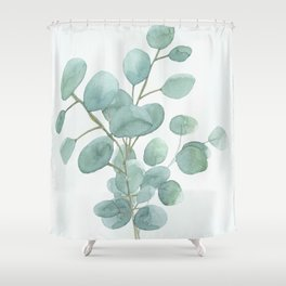 Eucalyptus Silver Dollar Shower Curtain