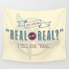 Read or Not Real Wall Tapestry
