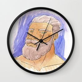 STRONG BEARD Wall Clock